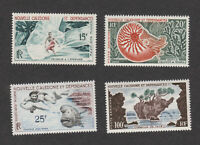 New Caledonia Sc# C29-C32 MLH OG stamp set 1962 c29-32