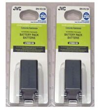 TWO 2X Genuine JVC BN-VG121 BN-VG121U BN-VG121US Batteries for GZ-HM320 GZ-HM330