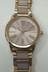Michael Kors MK3595 Hartman Rose Gold Dial Rose Gold Stainless Women's Watch