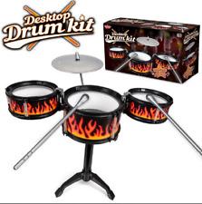 DESKTOP DRUM KIT - 37188 INSTRUMENT MUSICIAN DRUMMER PRACTICE BAND MUSIC