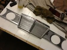 Humber sceptre mark 11  63-67 front grille and light bezels used for refurb