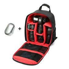 Camera Bag Backpack Waterproof DSLR Case with Carabiner for Canon Multifunction