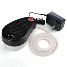Portable Mini Air Compressor KIT w/Hose Airbrush Holder Makeup Tattoo Hobby