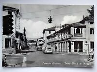 CORNUDA Via 8 9 Maggio FIAT 600 Treviso vecchia cartolina
