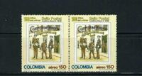 First Postage Stamp, 150th. Anniv.- POSTMAN COLOMBIA''   1990