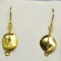 925 Sterling Plain Silver Earring 1.47 gms Earrings CCI