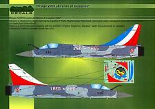 "Model Maker Decals 1/72 DASSAULT MIRAGE 2000C ""SIRENES ET CIGOGNES"""
