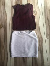 Ladies Skirt and Top Set - Size M/10 - 5+ items free postage (AU only)