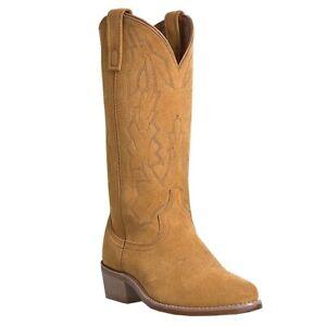 Laredo Natural Suede Cowboy Boots