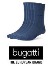 bugatti - Business Socken - 6 Paar - super soft- jeansblau - Größe 39/42