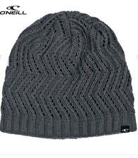 4e8abb12c5e O NEILL Womens AC Zig Zag Knit Winter Beanie Hat One Size Castle Rock Grey