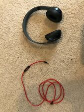 Beats by Dr. Dre Solo3 Wireless Over the Ear Headphones - Black and Red