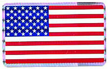 American Flag Official Racing Decal   D286