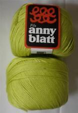 ANNY BLATT ASSOUAN MERCERIZED COTTON DK/LIGHT WORSTED YARN 1 BALL LIME (31P)