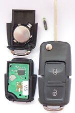 Funk Schlüssel 433,9 MHZ ID48 Fernbedienung 1J0959753AG VW BORA GOLF 4 POLO T4