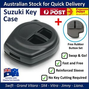 Suzuki Key Remote Case Shell Blank - Swift SX4 Grand Vitara Jimny Liana - FOB