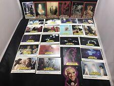Universal City Studios Battlestar Galactica 1978 Trading Cards (27 Cards)
