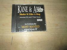 KANE & ABEL - SHAKE IT LIKE A DOG / GET IT RIGHT rare Rap Single cd PNC NEW