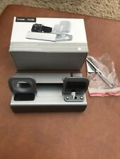 BNIB PHONE WATCH AND AIRPOD 3-1 CHARGING SILVER GREY STAND