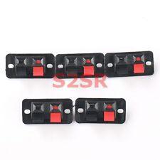 5pcs Speaker Clamp Audio Line Holder Power Clamp Socket Precise