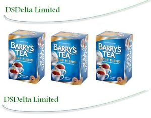Barrys Decaf Tea 40 Bags (Pack of 3). by Barry's Tea - Sold by DSDelta Ire