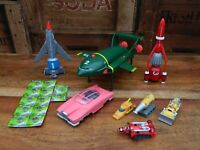 Thunderbirds Vehicle Set - Thunderbird 1 2 3 4 Mole Firefly - Soundtech 2000
