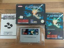 Flashback En Caja/Completo-Excelente Estado-Snes-Super Nintendo-Envío Gratis