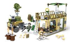 Military Frontline Command Building Blocks Sets Bricks Models Figures  Toys