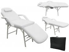 "73"" Massage Table W/ Carry Case Tattoo Salon Facial Spa Bed Foldable Portable"