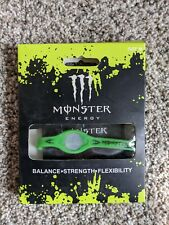 Power Balance Monster Energy Bracelet, green, medium, New