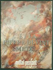 METAL PENSANT - REVUE MEDAILLE D'ART - 1989 C -  MONNAIE DE PARIS - ARCHITECTURE