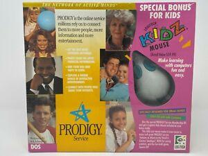Vintage Logitech Kidz Mouse Prodigy Service 1993 childrens mouse