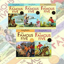 Enid Blytons Famous Five Series 5 Books Set 11-15 Age 7+