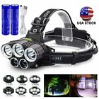 990000LM Super Bright LED Zoom Headlamp USB Rechargeable Headlight Head Torch US