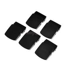 5Pcs Black Plastic 25mm Webbing Buckle Tactical Belt Buckle Sewing Fastening