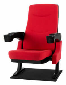 Stagecaptain 00048327 Home Cinema Movie Theater Seat Armchair with Cupholder - R