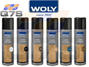 Woly Suede Nubuck Leather Velours Renovating Spray Shoes Boots Shoe Care 250mL