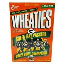 Unopened Wheaties Green Bay Packers Superbowl XXXI 31 Cereal Box 1997 Vtg #1