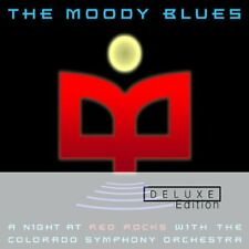 MOODY BLUES A NIGHT AT RED ROCKS WITH COLORADO SYMPHONY ORCHESTRA 2 CD NEW
