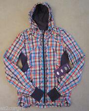Seawheeze Lululemon Downtime Jacket Gingham Plaid Check Multi Colors 6