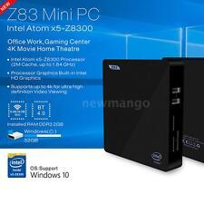 Beelink Z83 Windows 10 Mini PC Intel x5-z8350 4K TV Box Dual WiFi BT4.0 1000M HD
