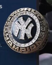 NY YANKEES 1998 WORLD SERIES CHAMPIONS REPLICA RING SGA  8/18/2018 JETER
