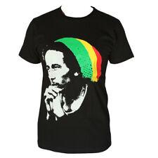 Bob Marley Reggae Beanie Men'S T-Shirt Black