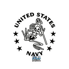 US NAVY  ANCHOR sticker decal Pilot Silent Service Seal Military PROUD AMERICAN