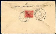 1932 cover from Taiping, Perak to Southern India as scanned (2018/05/18/#02)