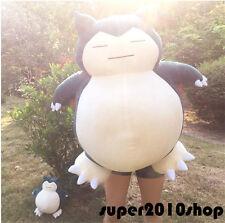 """32"""" GIGANTE Snorlax Peluche Kabigon OA Bambola Pokemon GO Cuscino Peluche Regalo 80 cm"""