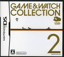 Used Nintendo DS Game & Watch Collection 2 Club Nintendo Japan Import、