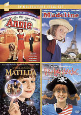 Annie/Madeline/Matilda/The New Adventures of Pippi Longstocking (DVD, 2016, 4-Di