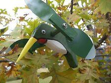 Green Hummingbird Mini Whirligigs Whirligig Windmill Yard Art Hand made from woo
