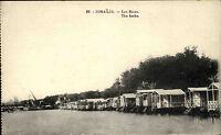 Ismailia Jsmailia Ägypten Egypt ca. 1910 Baths Gewässer Timsahsee See ungelaufen